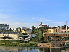 Skyline of Hrodna / Grodno