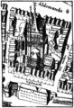 Gross St Martin - Stadtplan Köln 1571.png