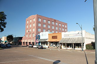 National Register of Historic Places listings in Bolivar County, Mississippi - Image: Grover Hotel