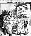 Grue cartoon mocking William Howard Taft (March 8, 1910).jpg