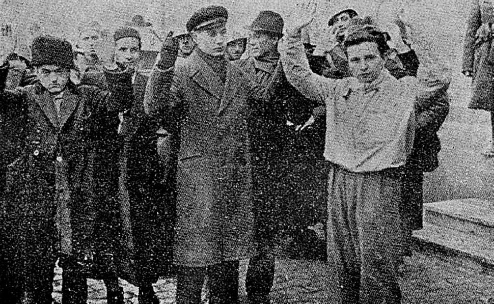 Grupuri de pogromişti, dintre cei care au bătut, chinuit şi ucis suflete evreeşti