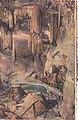 Grutas de Bétharram, Pirinéus, França, La chaire et le Bassin, França, Arquivo de Villa Maria, Angra do Heroísmo, Açores..jpg