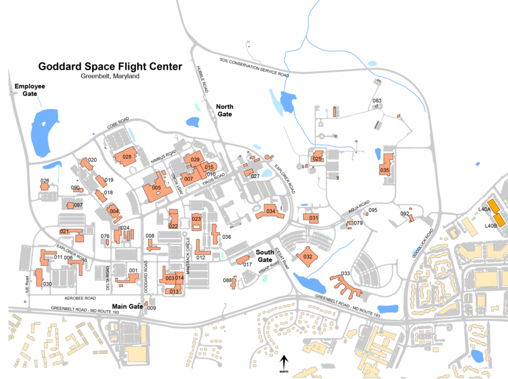 Goddard Campus Map.File Gsfc Campus Png Wikimedia Commons