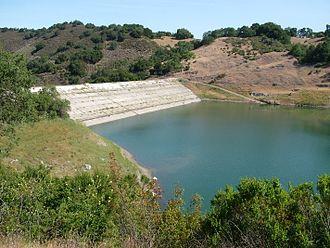 Guadalupe Reservoir - Image: Guadalupe Reservoir Dam