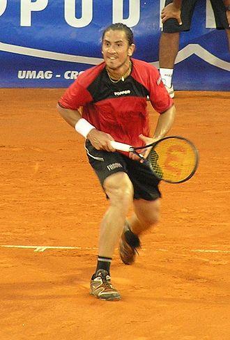 Guillermo Cañas - Image: Guillermo Canas Umag 2007