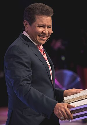 Guillermo Maldonado (pastor) - Maldonado on stage during the CAP leadership conference in Miami, Florida in October 2016.