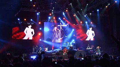 Guns N' Roses playing the Sofia Rocks Fest 2012 in Bulgaria. Guns N' Roses - Sofia.jpg