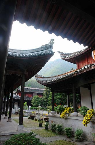Tiantai - Guoqing Temple.