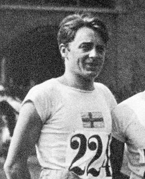 Gustaf Carlén - Carlén at the 1912 Olympics