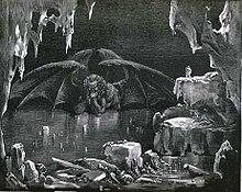 L'illustrazione di Lucifero di Gustave Dorè