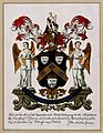 Guy's Hospital, Southwark; the grant of arms and motto. Wellcome V0013716.jpg