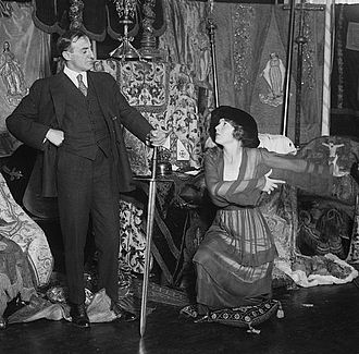National Red Cross Pageant - Guy Favières and Ina Claire in the film