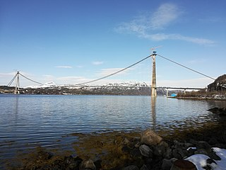 Hålogaland Bridge bridge in Narvik, Norway