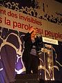 Hénin-Beaumont - Marine Le Pen au Parlement des Invisibles le dimanche 15 avril 2012 (H).JPG