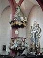Höchberg, Pfarrkirche Mariä Geburt 011, Pulpit.JPG