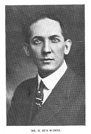 H. Rus Warne - H. Rus Warne, 1916.