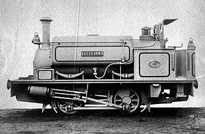 Durban Harbour's Congella - Natal Harbours Department engine Congella, c. 1902