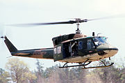 HH-1N USAF Reserve in Michigan 1982