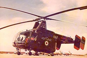 Kaman HH-43 Huskie - One of 12 HH-43 Huskies acquired by Imperial Iranian Air Force in 1965