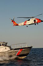 HH60 and Motor Lifeboat