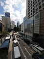 HK 中環 Central 遮打道 Chater Road view from Mandarin Oriental footbridge October 2020 SS2 02.jpg