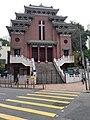 HK CWB Causeway Bay 銅鑼灣道 Tung Lo Wan Road 聖馬利亞堂 St Mary's Church n yellow road mark April 2021 SS2 01.jpg