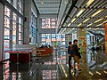 HK PolyU Hung Hom Bay Campus 8 Hung Lok Road lift lobby hall interior 13-Mar-2013.JPG