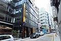 HK SW 上環新街 No 5-13 Sheung Wan New Street Universal Building sidewalk shop 共用工作空間 Naked Hub coworking restaurant April 2018 IX2 08.jpg