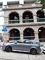 HK SYP 西營盤 Sai Ying Pun 高街 High Street sidewalk carpark automobile April 2020 SS2 02.jpg