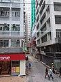 HK tram view 西營盤 Sai Ying Pun 德輔道西 Des Voeux Road West January 2019 SSG 02 Chung Ching Street.jpg