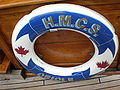 HMCS Oriole life preserver.JPG