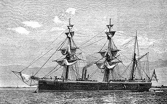 Doterel-class sloop - HMS Doterel