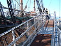 HMS Surprise (replica ship) gangway.JPG