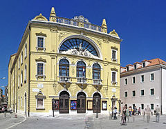 Kroatiska nationalteatern i Split