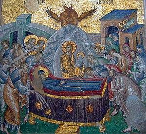 August 15 (Eastern Orthodox liturgics) - Image: HSX Koimetesis