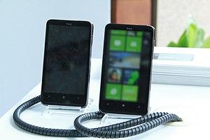 HTC HD7 - Image: HTC HD7 smartphones