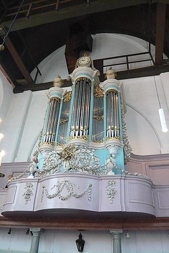Waalse Kerk, Haarlem - The organ was built in 1808 by Friederichs.