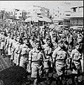 Haganah troops on parade.JPG