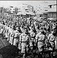 Haganah troops on parade.JPG