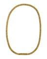 Halskedja, av guld, 1840-tal - Hallwylska museet - 109982.tif