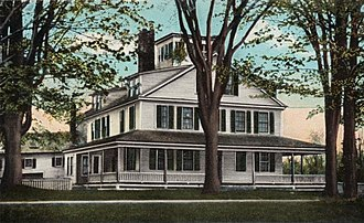 Paris, Maine - Image: Hamlin Homestead, Paris Hill, ME