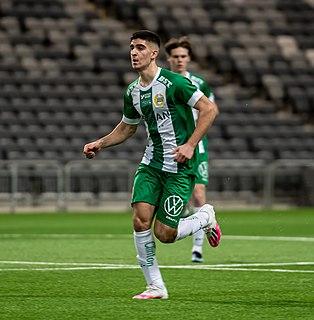 Mayckel Lahdo Swedish footballer