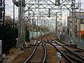 Hankyu Nishinomiyakitaguchi Station platform - panoramio (16).jpg