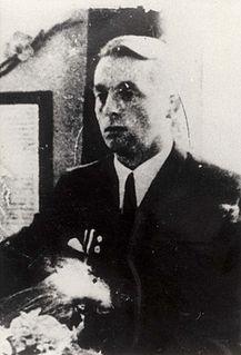 Nazi administrator of Lodz Ghetto