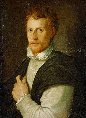 Hans Speckaert - Portrait of Cornelis Cort