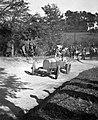 Hans Stuck Austro-Daimler versenyautóval az 1928-as svábhegyi verseny edzésén. Fortepan 19737.jpg