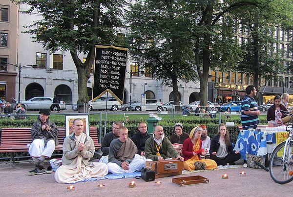 Hare Krishna i Helsingfors
