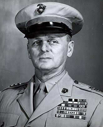 Franklin A. Hart - Franklin P. Hart, USMC