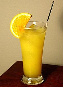 photo of a Harvey Wallbanger Cocktail Drink