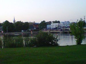 Hastings, Ontario - Image: Hastingsviewnorth